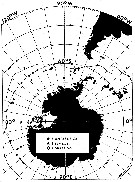 Species Paraeuchaeta antarctica - Distribution map 3