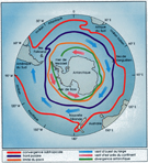 Southern Ocean. The Southern Ocean occupies 20% of the oceans